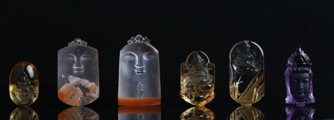resize,m fill,h 390,w 1080 - 一块块的水晶原石是怎么变成精美的水晶艺术品的?